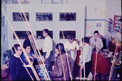 Inauguração do Netuno Aquarium na Avenida Washington Luis em 1968