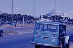 Vista do Aeroporto de Congonhas e Avenida Washington Luis em 1968